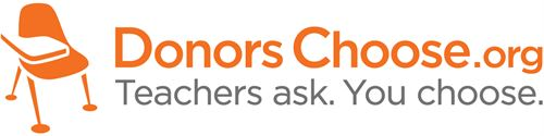 Donors Choose dot org. Teachers ask. You Choose.