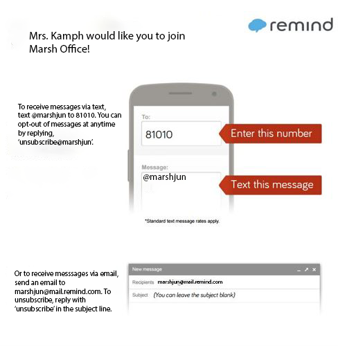 Remind app instruction picture